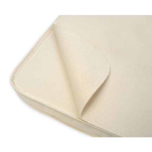 Naturepedic Waterproof Flat Portacrib Pad, 24x38