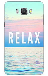 relax Designer Printed Back Case Cover for SAMSUNG Galaxy J7 - 6 (New 2016 Edition)