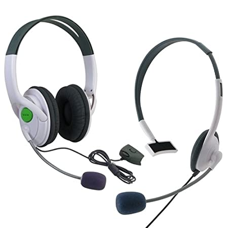 eForCity BIG+ SMALL LIVE HEADSET WITH MICROPHONE FOR XBOX 360 US