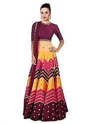 Rozdeal Designer Multi Color leriya Style Navratri Collection Lehnega Choli