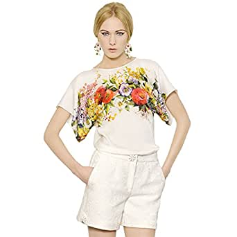 Gardening Spring Womens Flower Print Loose T Shirt S At Amazon Women S Clothing Store