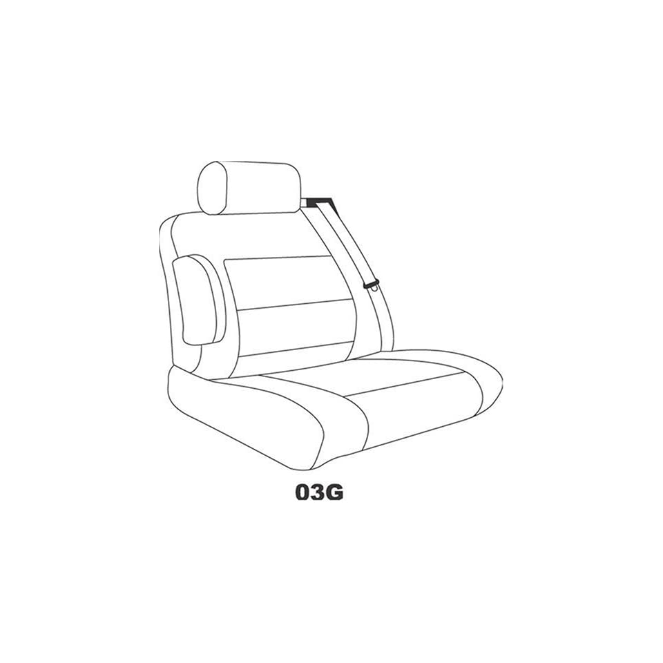 Saddleman Custom Made Front Bucket Seat Covers   MicroSuede Fabric (Tan)