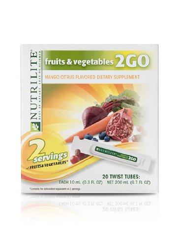 Nutrilite Fruits & Vegetables 2go Twist Tubes