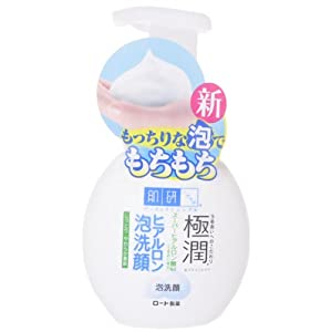 Rohto Hadalabo Gokujyn Hyaluronic Acid Cleansing Foam - 160ml