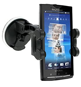 Modern-Tech In-Car Windscreen Suction Holder/ Mount for Sony Ericsson Xperia X10 and X10 Mini
