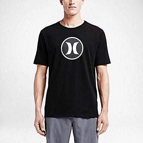 Hurley Icon Dri-Fit T-Shirt - Black - S