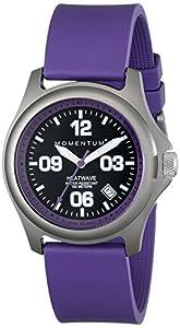Momentum Damen-Armbanduhr HEATWAVE Analog Quarz Kautschuk 1M-SP17P1P