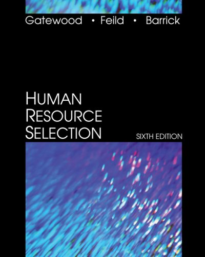 Human Resource Selection