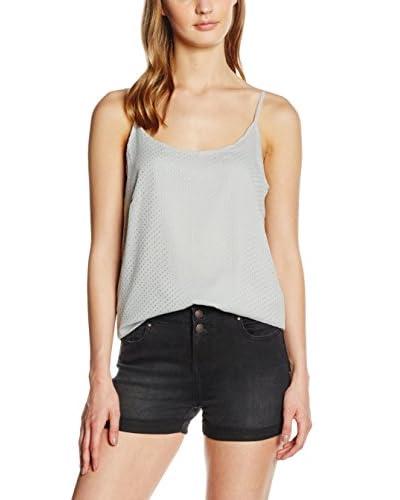 VILA CLOTHES Top Gris