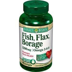 Nature 39 s bounty omega 3 6 9 fish flax borage for Fish flax borage oil