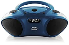 buy Hamilton Buhl Boombox With Bluetooth Receiver, Cd/Fm Media Player