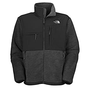 The North Face Men's Full Zip Denali Jacket, Charcoal Grey Heather, X-Large from The North Face