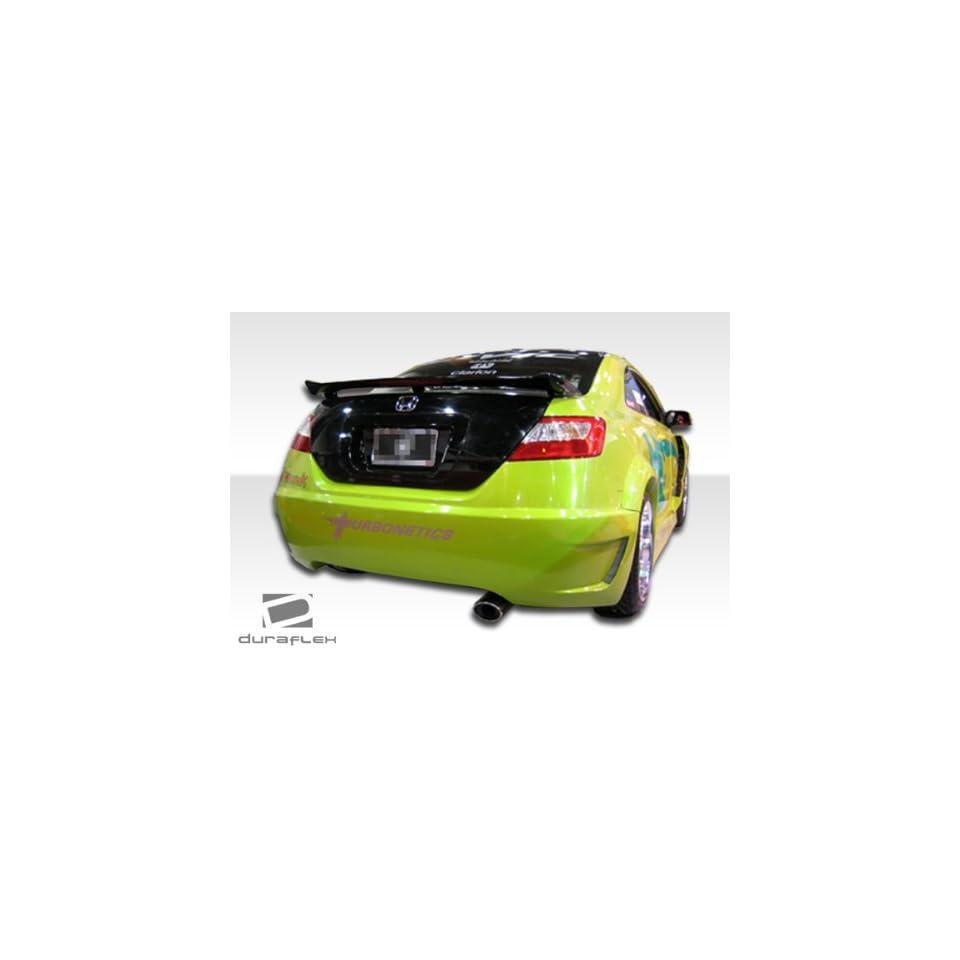 2006 2011 Honda Civic 2DR Duraflex Hot Wheels Widebody Rear Bumper   Duraflex Body Kits