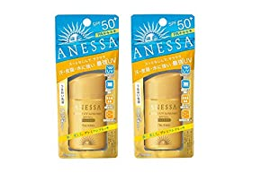 Shiseido Anessa Perfect UV Sunscreen SPF 50+ PA++++ 60ml / 2oz × 2 Bottles