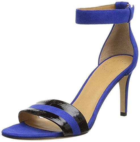 Marc By Marc Jacobs Women'S Ankle Strap Dress Sandal, Mineral Blue, 40 Eu/10 M Us