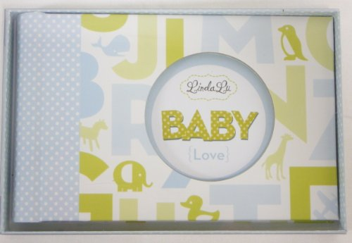Linda Lu Baby Photo Album - Blue - 1
