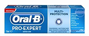 Oral B Dentifrice Pro Expert Multi-Protection Menthe Extra Fraîche 75 ml