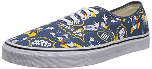 VansU Authentic Disney Sneaker Basse, Uomo, Multicolore (Disney/Donald Duck/Navy), 41