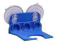 3D Printed WaveHooks Wine Glass Holder Blue Set