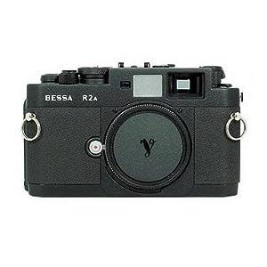 Voigtlander Bessa R2A 35mm Rangefinder Manual Focus Camera Body, 0.7 Viewfinder, Black
