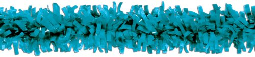 Pkgd Tissue Festooning (turquoise) Party Accessory  (1 count) (1/Pkg) (Teal Paper Streamer compare prices)