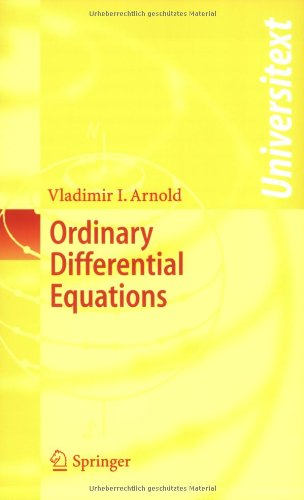 Ordinary Differential Equations (Universitext): Vladimir I. Arnold, R. Cooke: 9783540345633: Amazon.com: Books