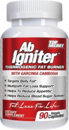 Top Secret Nutrition Ab Igniter - 90 Veggie Capsules (café vert)