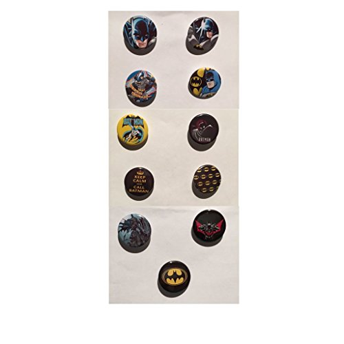 DC Comics - Batman - Set di 11 spille / Badges
