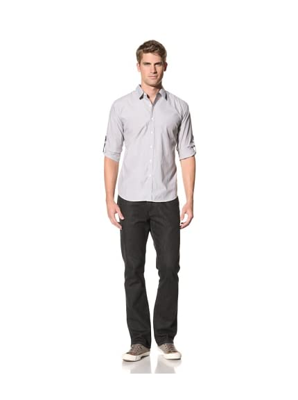 ONE90ONE Men's Simple Start Roll-Up Shirt