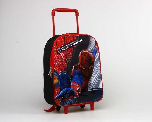 carrito mochila spiderman 24x34x11cm