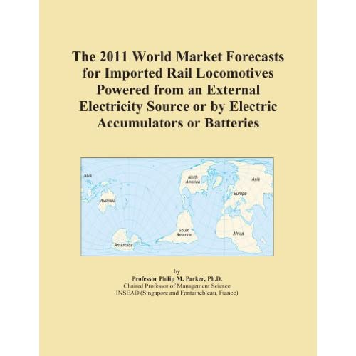 The 2009 Import and Export Market for Rail Locomotives Powered from an External Electricity Source in Europe Icon Group
