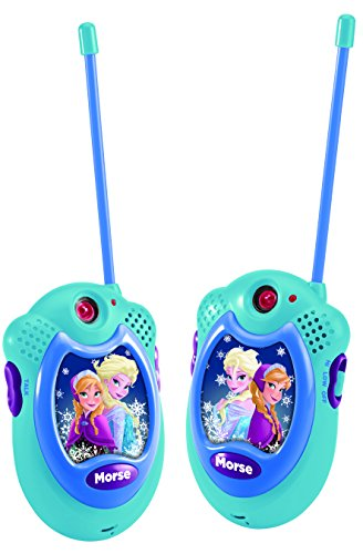 Frozen - Walkie-Talkie, color azul (Lexibook TW06FZ)