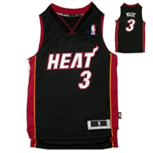 NBA MIAMI HEAT WADE #3 Youth Sleeveless Jersey with Embroidered Logo & Numbers by NBA