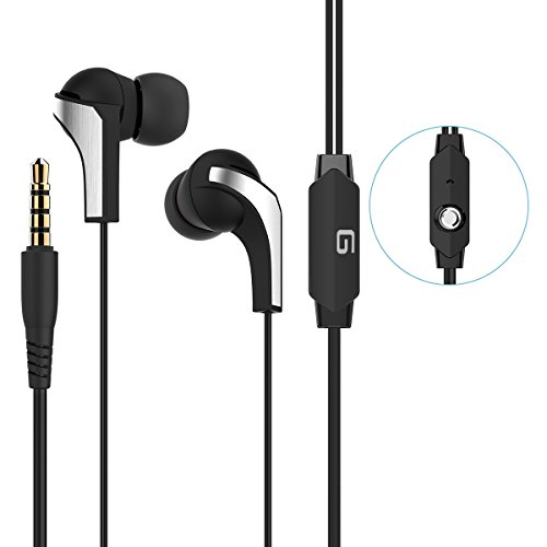G-Cord (TM) Premium Lightweight In-Ear Earphones with Microphone for iPhone iPad iPod Android and Windows Devices (Iphone 4s Metal Housing compare prices)