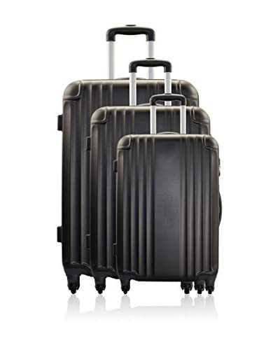 HERO Set 3 Trolley Rigido Movelite [Grigio Scuro]
