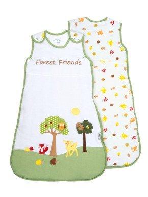 Sacco Nanna Slumbersac Bambino circa 2.5 Tog - Amici della Foresta - 6-18 mesi/90cm