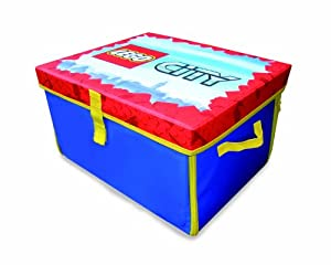 LEGO City Zipbin Storage Box and Playmat - Caja y tapete de juego - BebeHogar.com