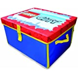 Neat-Oh! LEGO City ZipBin 1000 Brick Medium Toy Box & Playmat
