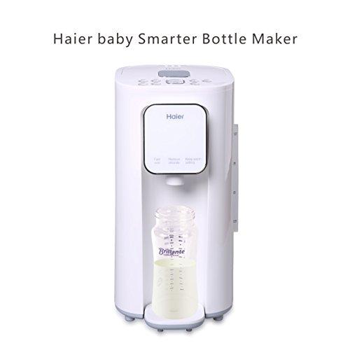 Haier HBM-F25 220V 800W Calentador para Leche de Bebé Inteligente Modulador para Temperature Constante(EU Plug, Blanco)