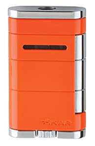Xikar Allume Single Jet Orange Lighter