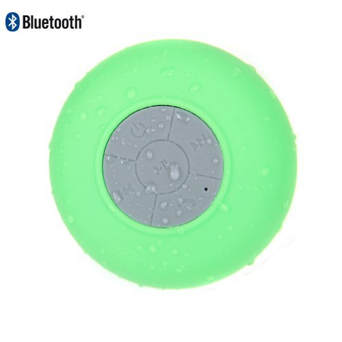 Oisound Waterproof Bluetooth Wireless Shower Speaker & Speakerphone For Iphone,Ipad,Atv, Baths, Swimming Pools, Boats,Jeep (Green)