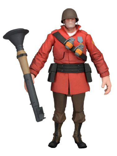 Team Fortress 2/7 inches Deluxe Action Figure Series 2: Soldier (japan import)