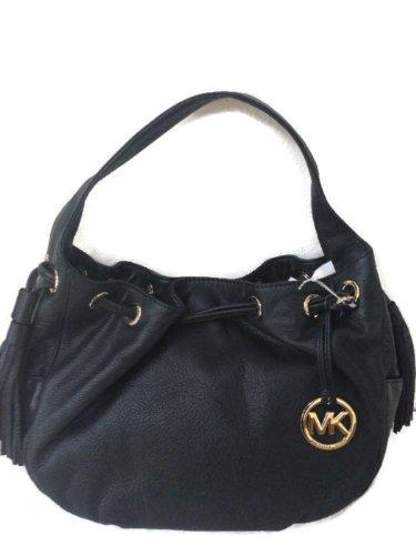 MICHAEL Michael KorsMichael Kors Marina Black Handbag $398