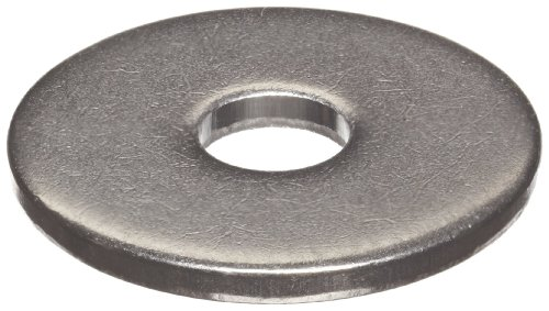 Stainless Steel 18-8 Flat Washer, ANSI, #5, 0.141