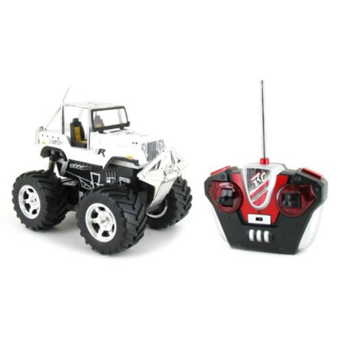 DDI 3R Top Racing White Jeep Extreme RTR RC Truck Case Pack 12
