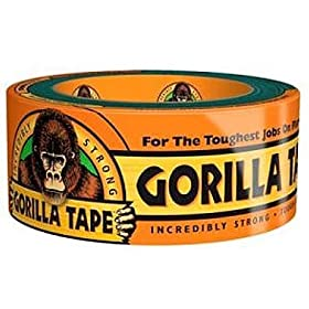 "Gorilla Glue Double Thick Adhesive Duct Tape, 12 yards Length, 1-7/8"" Width"