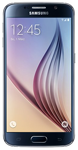 Samsung Galaxy S6 Smartphone, Memoria 32 GB, Nero [EU-Import]
