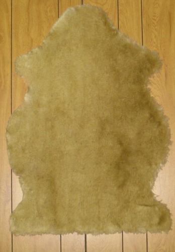 Faux Sheepskin Fur Pelt 2' x 3' (TAN)