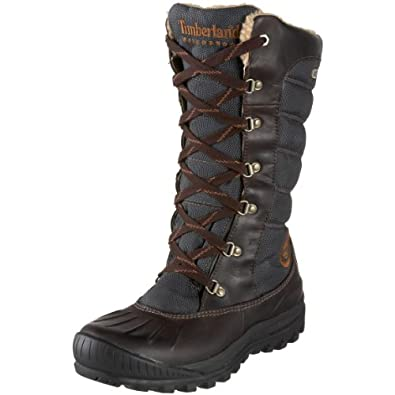 Timberland Women's 21644 Earthkeepers Mount Holly Tall Lace Duck Boot,Brown/Brown,5 M US