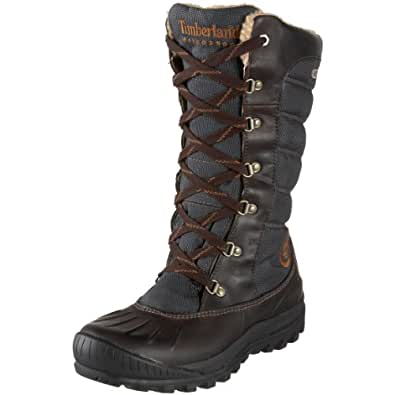 Timberland Women's 21644 Earthkeepers Mount Holly Tall Lace Duck Boot,Brown/Brown,5.5 M US